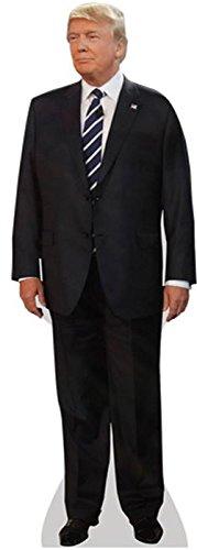 Celebrity Cutouts Donald Trump (Suit) Pappaufsteller Mini