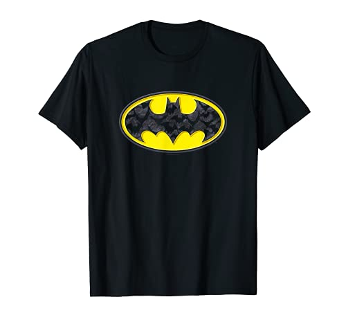 Batman Bats in Logo Camiseta