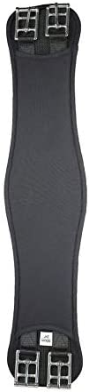 Size:EU 100//US 40 Color:Black HORZE Fribourg Allround Girth