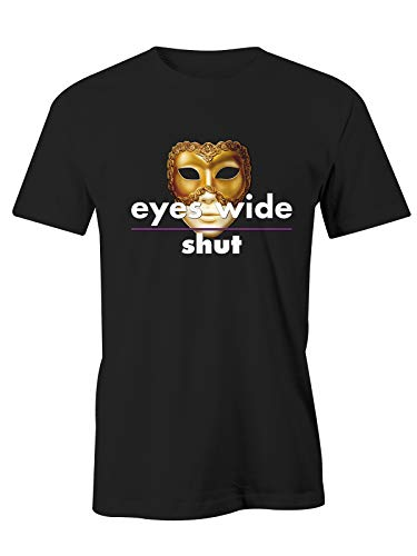 Puzzletee Tshirt Eyes Wide Shut - Maschera - Film Cult - Anni 80 - Anni 70 - Idea Regalo