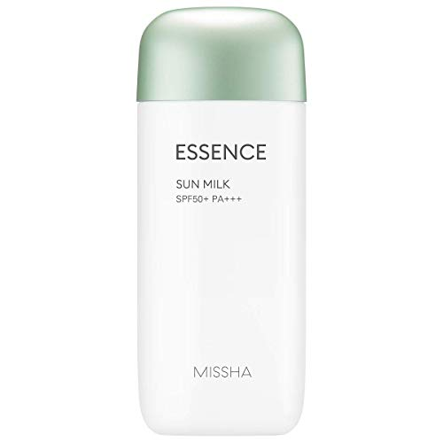 MISSHA All Around Safe Block Essence Sun Milk 2.37 Oz/70Ml