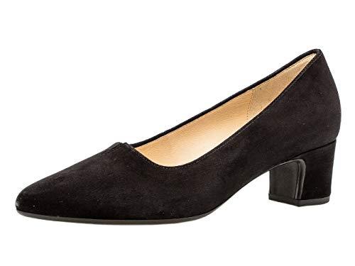 Gabor Damen Pumps 31.440, Frauen Court-Shoes,Absatzschuhe,Abendschuhe,Stöckelschuhe,schwarz,42 EU / 8 UK