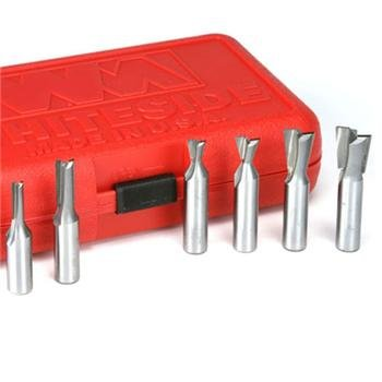 6 Pieces Incra Joinery Router Bit Set