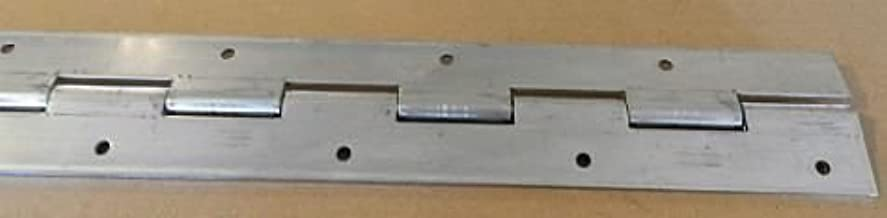 (2) Heavy Duty Aluminum Door Piano Hinge