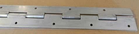Vintage Technologies (2) Heavy Duty Aluminum Door Piano Hinge