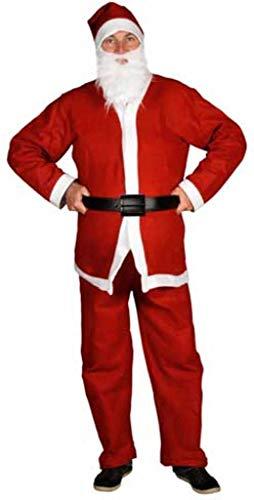 Lifetime BE-58333 Costume intégral de Père Noël 5 pièces Taille unique