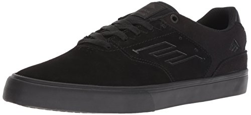 Emerica Men's The Reynolds Low Vulc Shoes,10,Black Raw