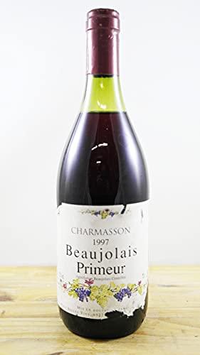 Wein Jahrgang 1997 Charmasson Beaujolais Primeur Flasche