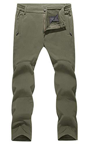 MAGCOMSEN Hiking Pants Mens Waterproof Pants Winter Pants Men Ski Pants Snowboard Pants Camping Pants Warm Pants for Men
