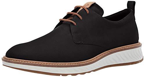 ECCO mens St.1 Hybrid Plain Toe oxfords shoes, Black, 7-7.5 US