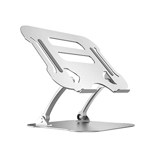 11-17inch Folding Adjustable Angle Aluminum Alloy Desktop Portable Holder Office Universal Non Slip Laptop Stand (Color : Lifting Bracket)