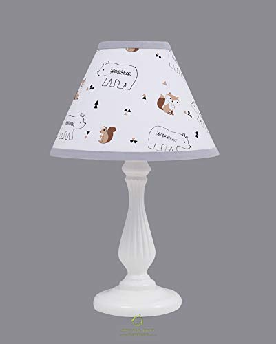 OptimaBaby Woodland Lamp Shade Without Base, Forest Fox