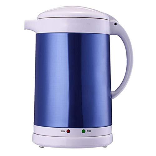 YFGQBCP Calentador de Agua Hervidor eléctrico Aislamiento Acero Inoxidable 304 (Tamaño: 25 * 22 * 15 cm) (Color : Blue)