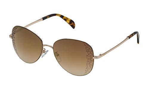 TOUS STO360-57300G Gafas, Rosado, 57/16/140 para Mujer