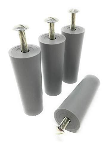 Anschlagpuffer Stopper für Rollladen 60 mm grau 4 Stück