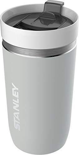 Stanley GO Series Vacuum Tumbler, 18/8 Edelstahl, Granit, helle Ceramivac-Beschichtung, Tritan-Kunststoffdeckel