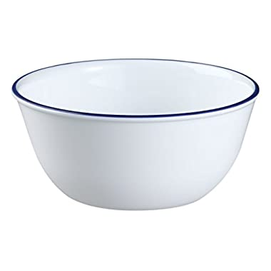 Corelle Livingware 28-Ounce Super Soup/Cereal Bowl, Navy Blue (3 Bowls) (1)