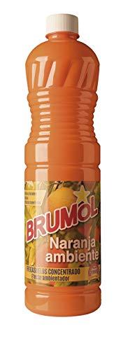 Brumol Fregasuelos Concentrado Naranja Ambiente - Paquete de 15 x 1000 ml - Total: 15000 ml