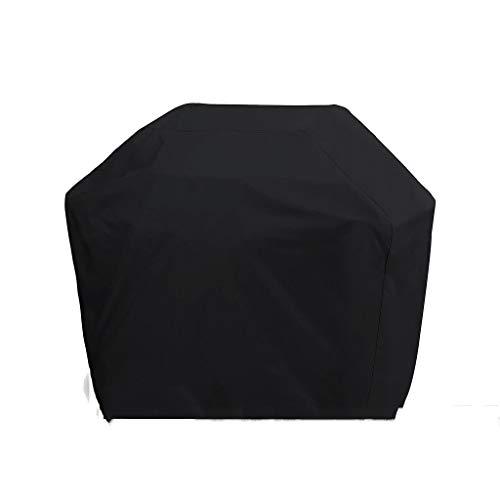 AHGX-cover Couverture de Meubles Meubles Couverture, de Plein air 600D Noir Couvercle du Gril étanche à la poussière Crème Solaire Anti-UV,Black,190 * 71 * 117cm
