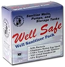 Well Safe Well Sanitizer Pack (ORM-D)-- (Package Of 3)