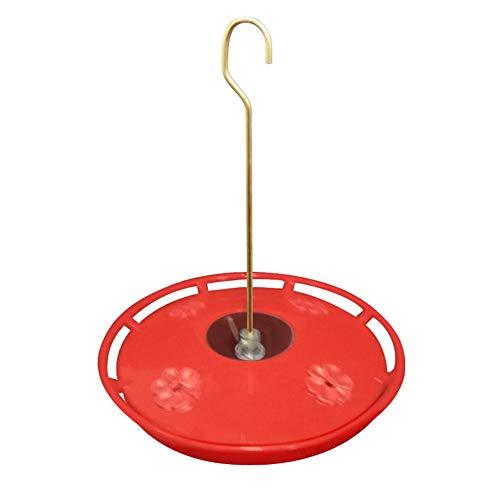 Goodtimera Kolibri Feeder - Flor colgante para crecimiento grande con 4 estaciones de alimentación para exteriores