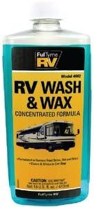 Rapid rise Limited price FulTyme RV 590-4002 Wash 16 Oz. Wax