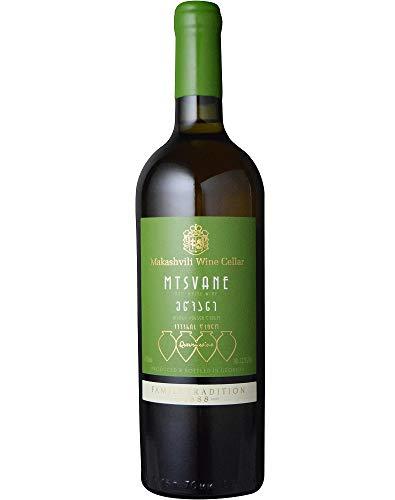 マカシヴィリ・ワイン・セラー ムツヴァネ [2018] (ヴァジアニ・カンパニー) Makashivili Wine Cellar Mtsvane [2018] (Vaziani Company) ジョージア/カヘティ/白/750ml