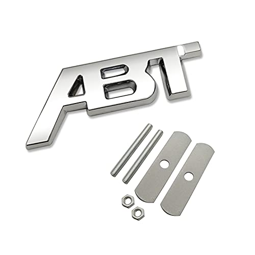 3D Metal ABT Logo Sticker Pegatina Frente Grúa Emblema de la insignia,...