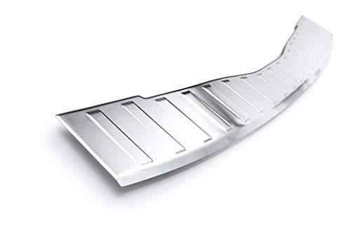 bester der welt Lastschwellenschutz für Edelstahl V2A mit Lünette Teileplus24 L614, mattes Silber 2021