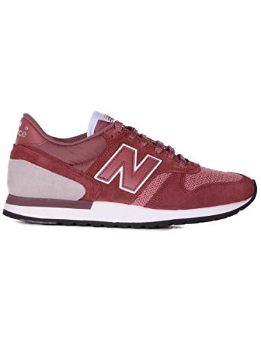 Luxury Fashion | New Balance Heren NBM770SPG Bordeaux Suôde Sneakers | Seizoen Outlet