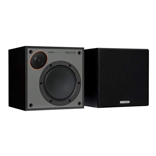 Monitor 50 - Altavoces para estantería, Color Negro