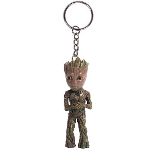 Baby Groot - Portachiavi dei Gardiens della Galassia Vol.2 Figure Bambola Giocattolo carino