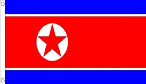 Corée du Nord Drapeau 5 'X3' (150 cm x 90 cm)