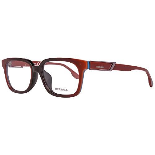 Diesel Brillengestelle DL5111-F 55047 Rund Brillengestelle 55, Braun