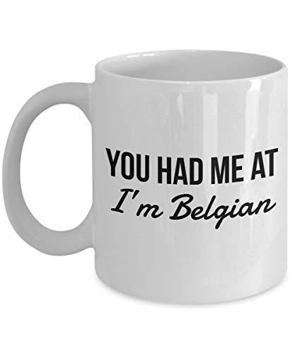 463Opher Belgischer beker Sie Hatten Mich an Belgische koffiemok Belgische cadeau