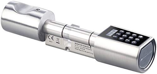 VisorTech Türschloss: Elektronischer Tür-Schließzylinder, Transponder, Code, Bluetooth & App (Elektronisches Türschloss) - 5