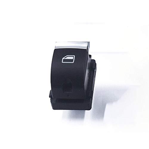 OLDJTK Interruptor de la Ventana de Botones de Control for For Audi A3 8P A6 S6 RS6 C6 Q7 2004 2005 2006 2007 2008 2009 2010 2011 4F0959851H (Color : Red)