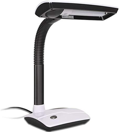 lamparitas de noche dormitorio lamparas mesita de noche flexo led escritorio Lámpara de escritorio para niños Lámpara de lectura Lámpara de cabecera de dormitorio enchufable Botón de un botón, a