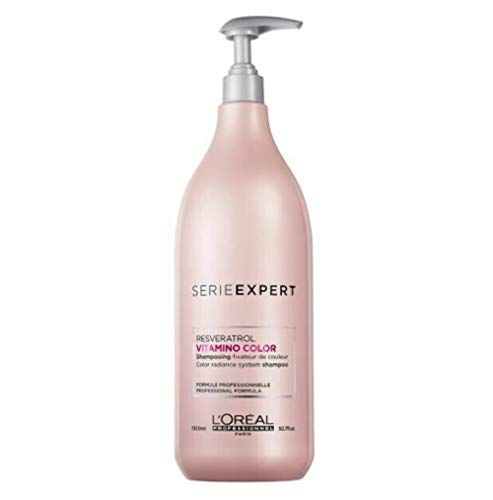 Loreal Expert Vitamino Color Resveratrol Champú 1500 ml