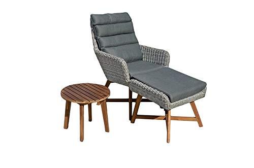 Gravidus gezellige loungeset, grijs