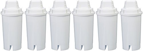Product Image of the Amazon Basics Replacement Water Filters for Amazon Basics & Brita Pitchers - 6-Pack