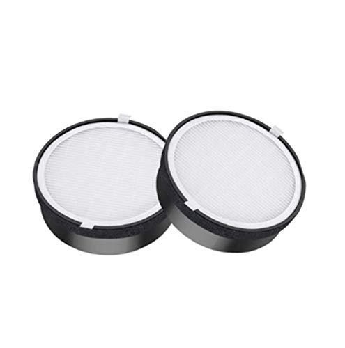 YanBan 2 piezas de repuesto de filtro Hepa para Levoit purificador de aire Levoit LV-H132 LV-H132-RF, piezas de filtro de carbón activado, pieza de purificador de aire de limpieza