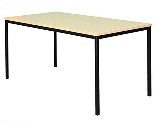 Schreibtisch Buche Dekor Profi Besprechungstisch Büromöbel Verkaufstisch Computertisch 200x100cm 331141