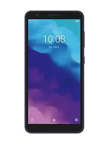 ZTE Blade A3 2020 - Smartphone de 5.45' HD+ (18:9, 1 GB RAM, 32 GB ROM, batería de 2600 mAh, Android P Go Editon) Gris Oscuro