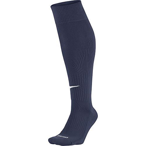 Nike Unisex Erwachsene Knee High Classic Football Dri Fit Fußballsocken, Blau (Mitternacht Marine blau), 46-50 EU (XL)