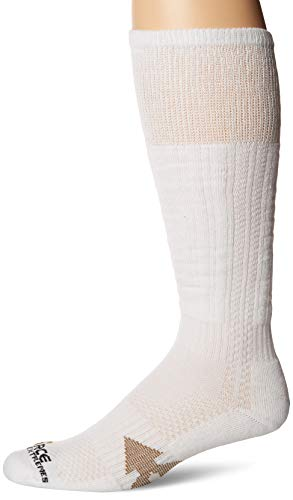 Carhartt Men's Force Extremes Over The Calf Work Boot Socks, White, Shoe Size: 6-12