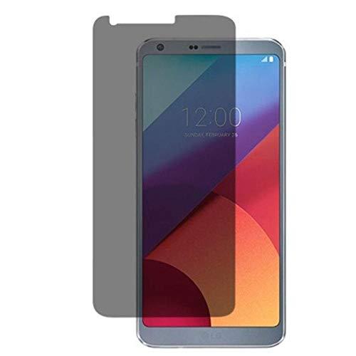 Wangyy [Paquete de 3] Protector de Pantalla de Vidrio Templado de privacidad de 9H 2.5D para LG G6 Vidrio Templado antirrobo para LG G6 Película de Vidrio antiespía-para LG G6
