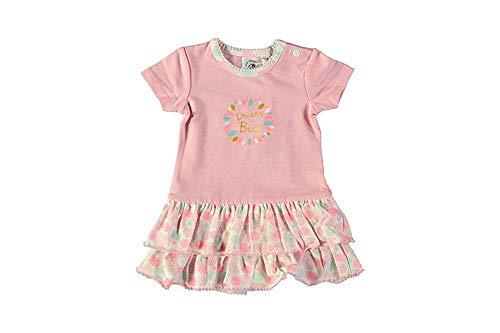 Little Bampidano baby meisjes zomerjurk premature roze maat 50-80