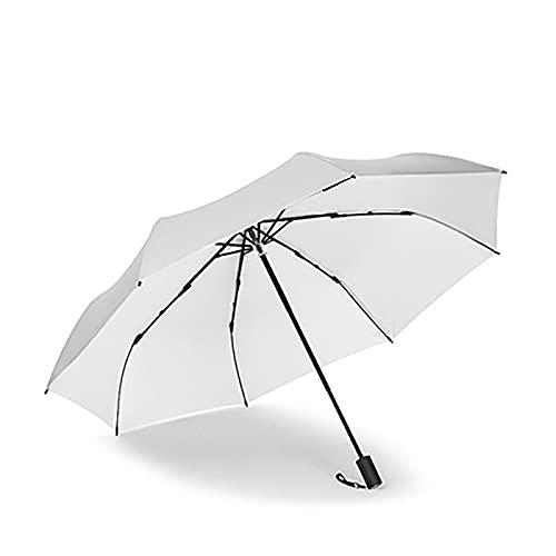 EAN Sonnenschirm Uv-Schutz Weiblicher Titan Silber Sonnenschirm Sonnencreme Faltbare Automatische Faltschirme Dual-use Student Summer(Size:3 fold Manual Umbrella,Color:K.)