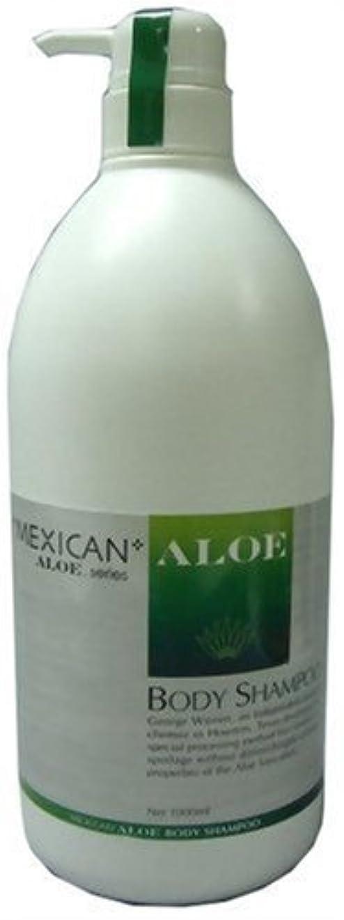 例外豆メンターメキシカンアロエボディーシャンプー 1L